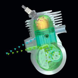 STIHL 2-MIX-мотор