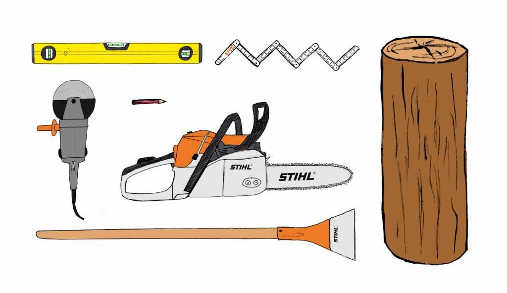 STIHL cеkor-1 alat