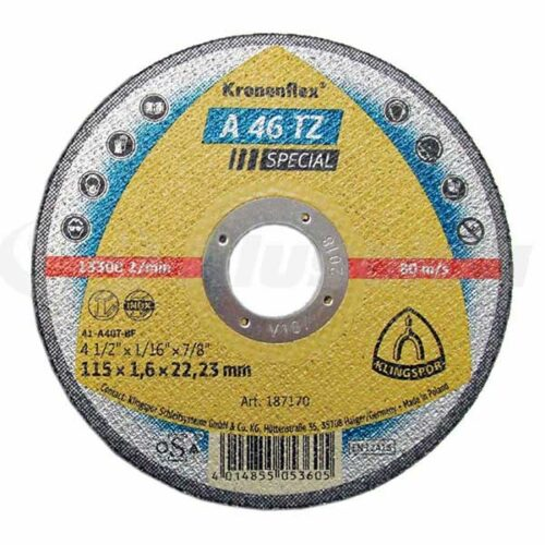 Плоча за Сечење Инокс/Метал Klingspor A 46 115 mm