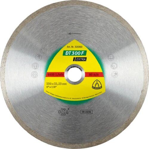 Дијамантски диск за сечење плочки Klingspor DT 300F 115mm