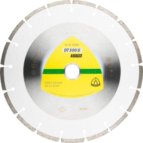 Дијамантски диск за сечење бетон и градежни материјали Klingspor DT 300 U 230 mm.