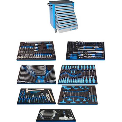 Количка за алати UNIOR 1011AEV6 со 325 алати