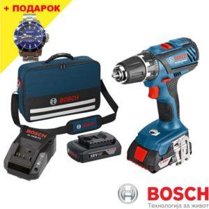 Батериски одвртувач BOSCH GSR 18-2-LI Plus