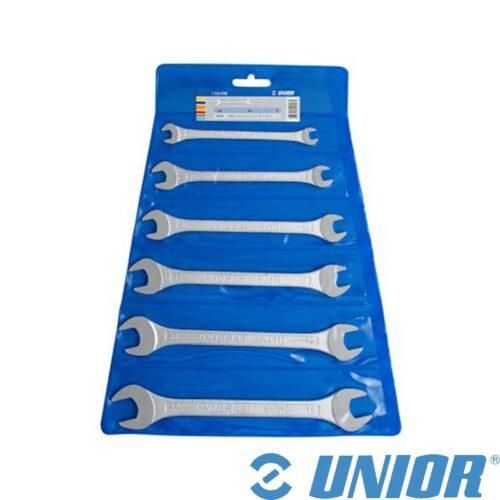 Гарнитура вилушкасти клучеви UNIOR - 110/1PB