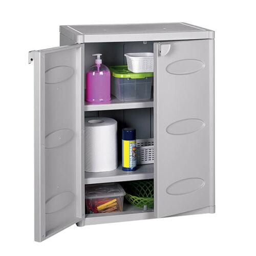 Шкафче-за-складирање-бел-64x45x88