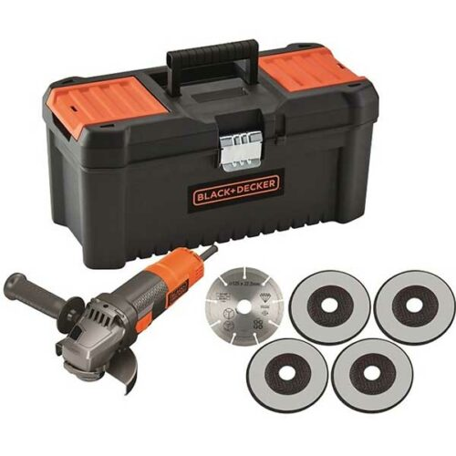 Аголна Брусилка 900W 125mm Black+Decker BEG220KA5