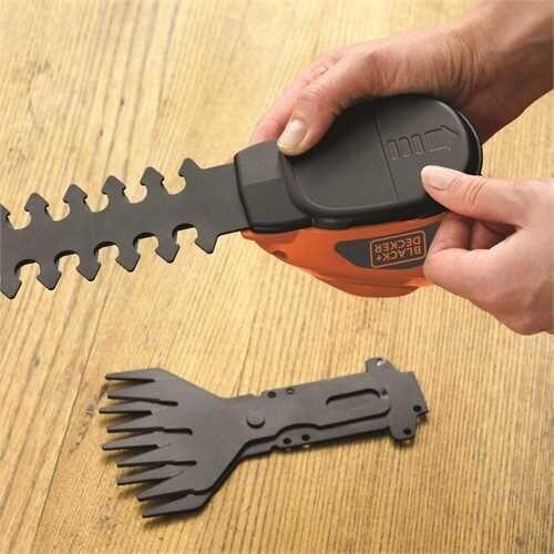 Акумулаторскa ножица за жива ограда Black+Decker GSL700 7V