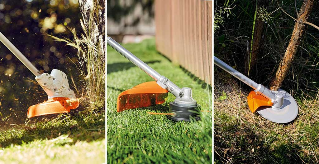 Типови на тримери за трева според извор на енергија