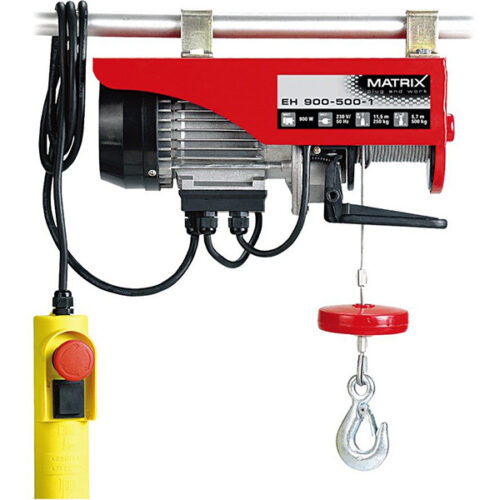 Електрична дигалка со сајла MTX EH 900-500-1
