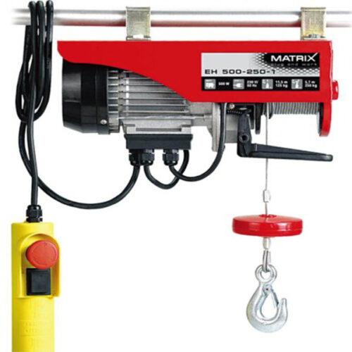 Електрична дигалка со сајла MTX EH 500-250-1