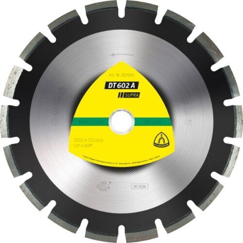 Дијамантски диск за сечење Асфалт Klingspor DT 602 A Supra