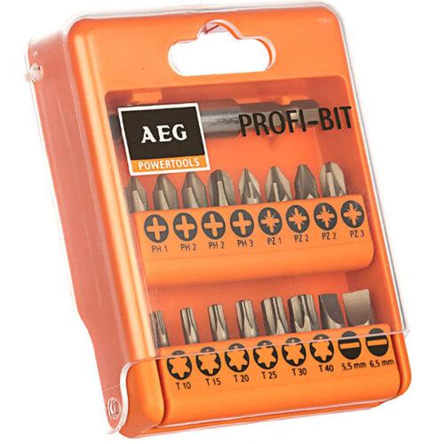 Сет битови за завртки со 17 парчиња AEG