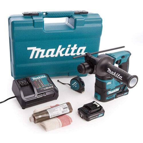 Акумулаторска дупчалка - чекан MAKITA HR166DWAE1