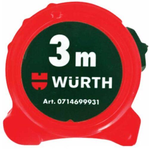 Метро од 3 метри WURTH