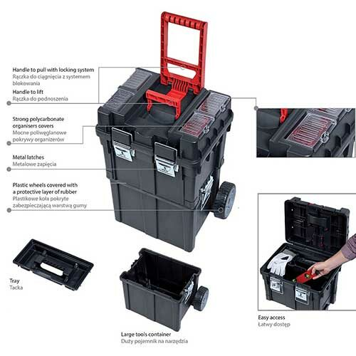 Кутија за алат WHEELBOX HD COMPACT LOGIC