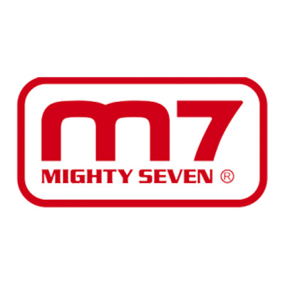 Mighty seven logo
