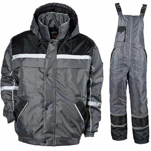 Зимска заштитна јакна и панталони COLLINS сива