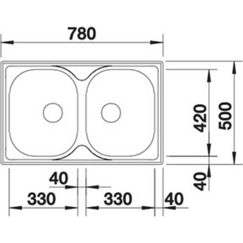 Садопер BLANCO TIPO 8 Compact