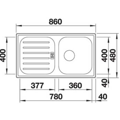 Садопер BLANCO FLEX Pro 45 S