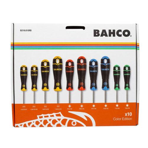 Сет од 10 шравцигери BAHCO B219.010RB