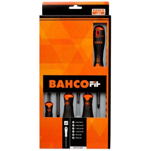 Сет од 6 шравцигери Bahco Fit B219.006