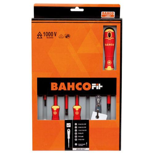 Сет од 7 шравцигери Bahco Fit B220.027