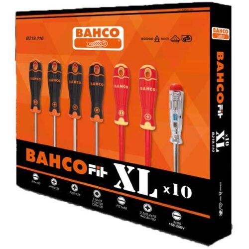 Сет 10 шрафцигери BahcoFit XL B219.110