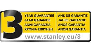 STANLEY 3 Години гаранција