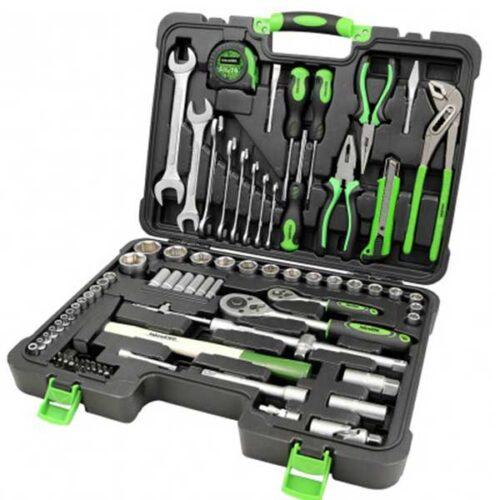 Гарнитура алати Iskra ERO HTWR-85 со 85 парчиња во куфер