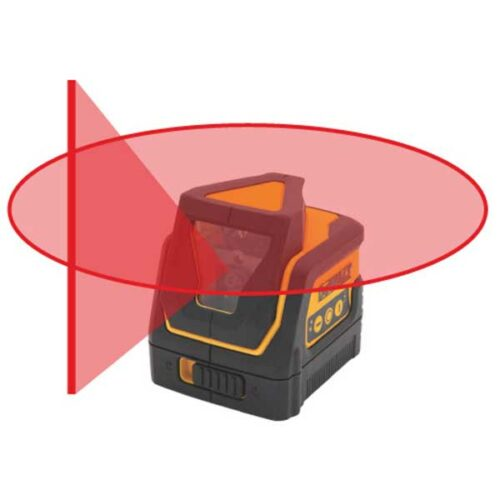 Ласер со вкрстени линии 360° DeWALT DW0811K