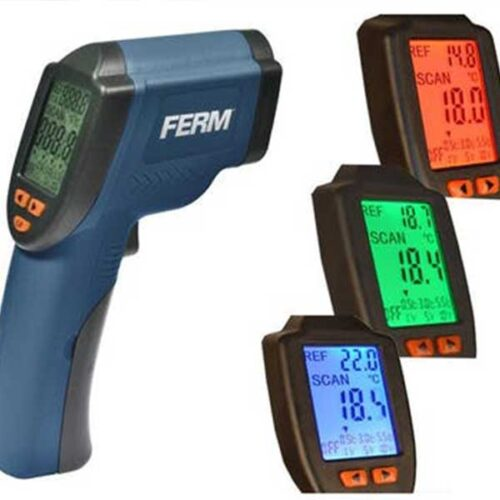 Ласерски термометар FERM ITM1001 од -40ºC +530ºC