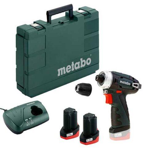 Батериски одвртувач METABO PowerMaxx BS