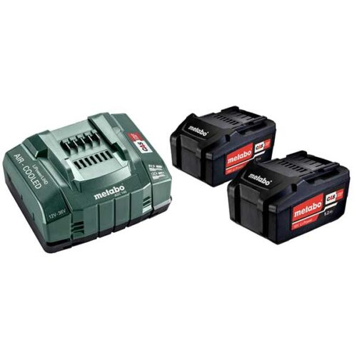 Батериски сет METABO BASIC SET 2 X 5.2 AH