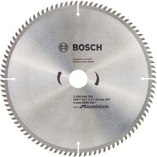 Пила за Алуминиум BOSCH 254x3,0x30mm 96z ECOLINE