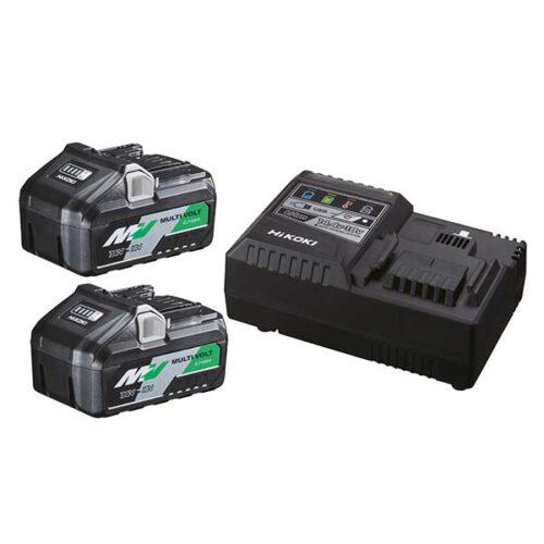 Сет батерии плус полнач HIKOKI UC18YSL3-WE