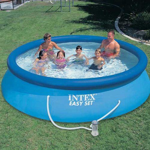INTEX Easy Set Базен 28110 244 x 76 cm со пумпа и филтер