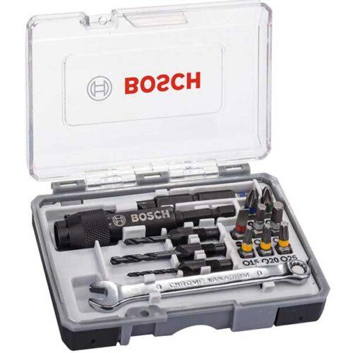 20 делен сет битови и упуштачи (фрезенк) BOSCH (2607002786)