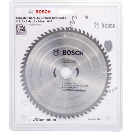 Пила за Алуминиум BOSCH 210x2.4x30mm 64z ECOLINE