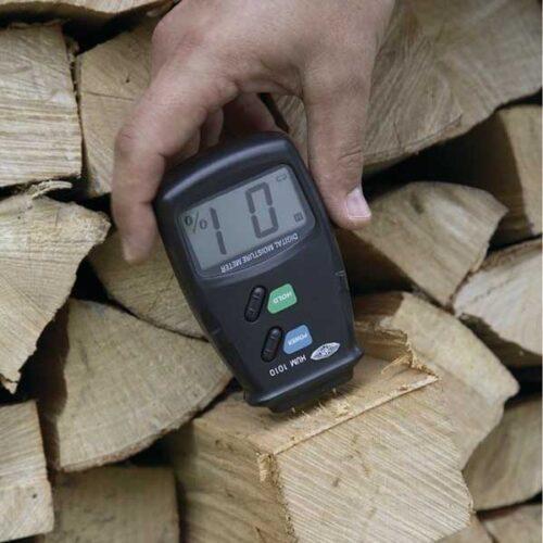 Мерач на влажност на дрво Wolfcraft