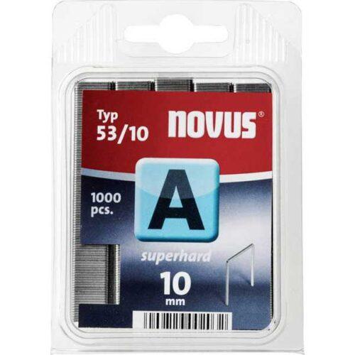 Муниција за рачна хефталка Novus A type 53/10 1000 пар