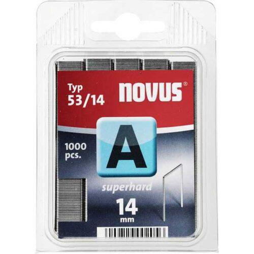 Муниција за рачна хефталка Novus A type 53/14 1000 пар.