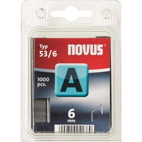 Муниција за рачна хефталка Novus A type 53/6 1000 пар