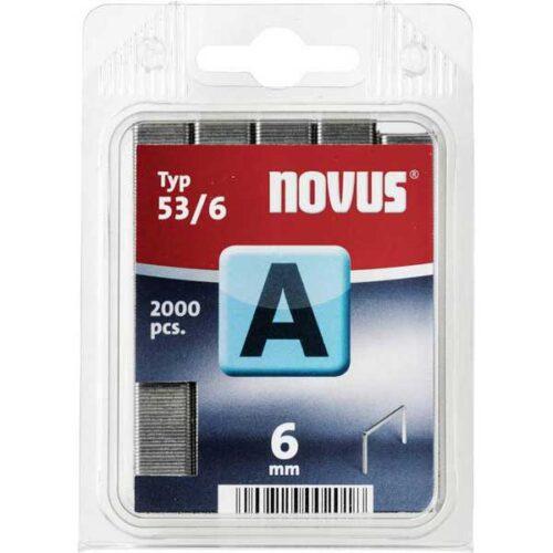Муниција за рачна хефталка Novus A type 53/6 2000 пар.