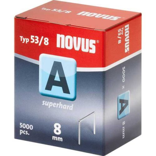 Муниција за рачна хефталка Novus A type 53/8 5000 пар.