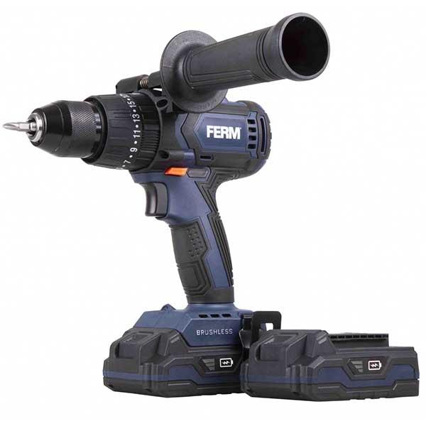Акумулаторска ударна дупчалка FERM 20V 2.0AH CDM1138