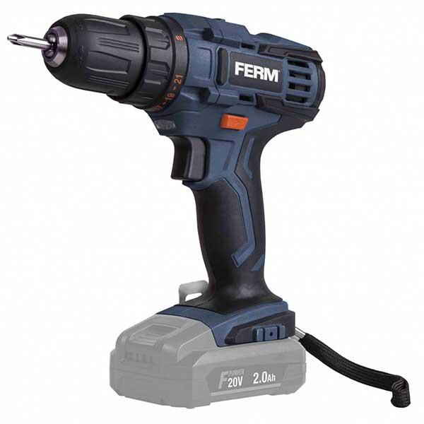 Акумулаторска дупчалка FERM 20V CDM1043 (само уред)