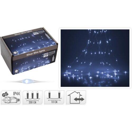 Новогодишни сијалички Silver Micro LED 200 W 10x200cm
