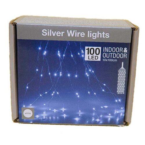 Новогодишни сијалички Silver Micro LED 100 W 10x100cm