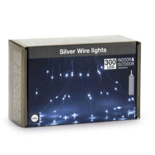 Новогодишни сијалички Silver Micro LED 300 W 10x300cm