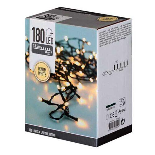 Новогодишни сијалички LED 180 Warm White 16.5 m.